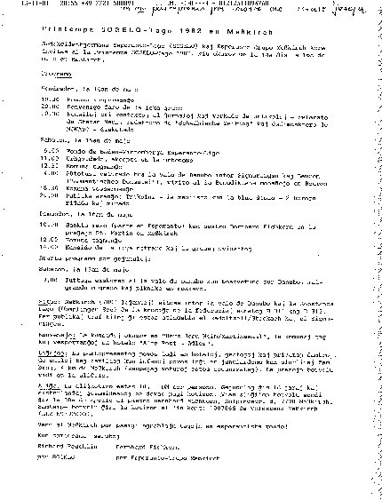 Einladung zur Gründung in Messkirch