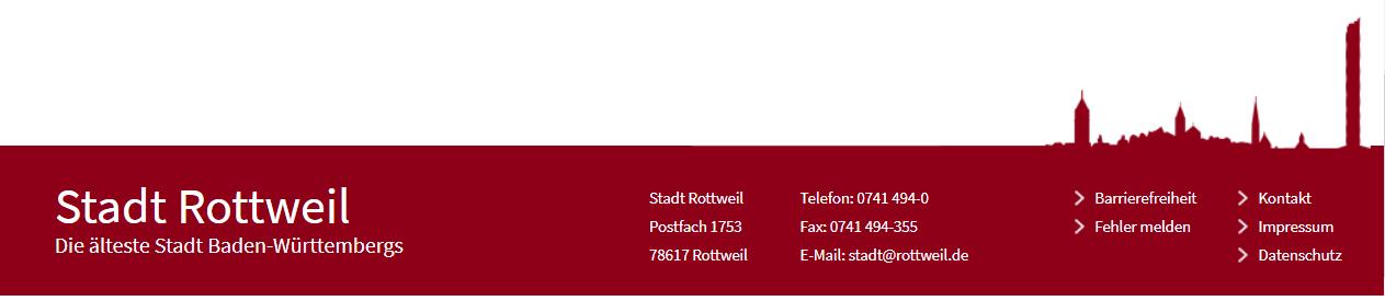 (c) dankon al la urbo Rottweil